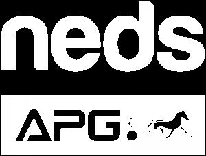 Neds APG White Logo - Transparent
